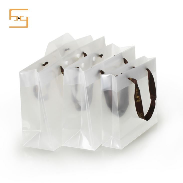 Transparent Plastic PP Shopping Handle Bag