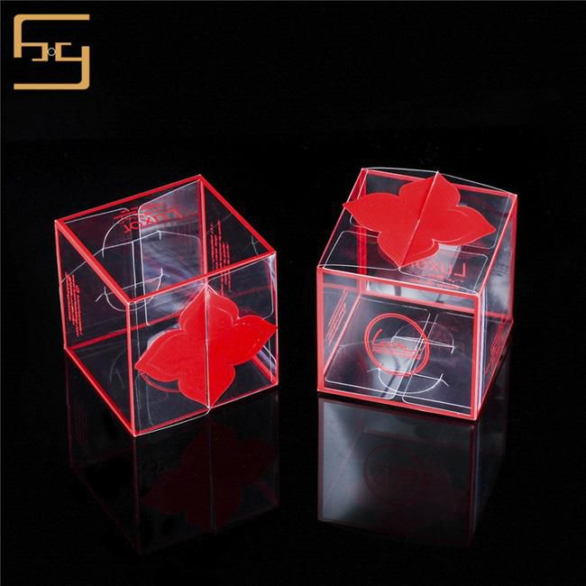 Clear Plastic Cake Packing Box