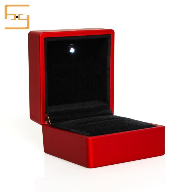 Engagement Ring Case Ring Box With Light