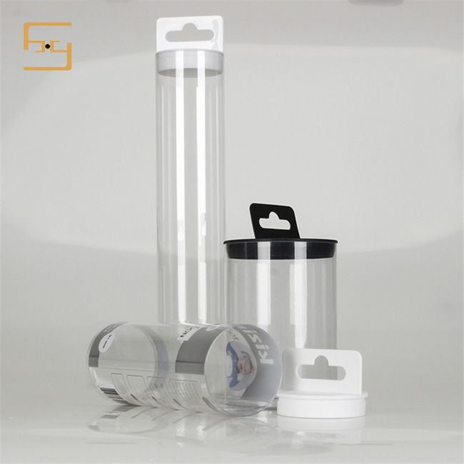 PET Candy Gift Box Cylinder Packaging