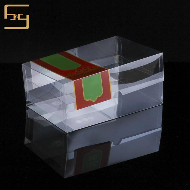 PVC Plastic Tea Box with Lid