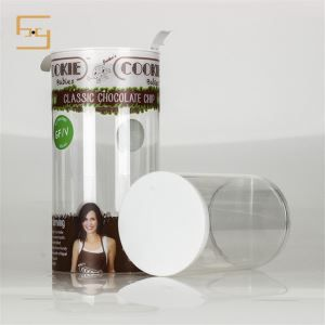 Food Grade Clear Plastic Cylinder