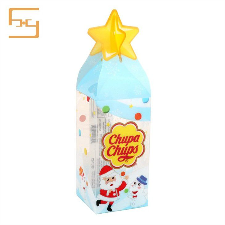 Christmas Candy Gift Plastic Box